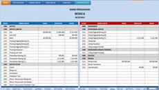 Contoh Format Laporan Keuangan Sederhana Excel Kumpulan Contoh Laporan
